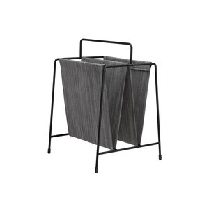 revistero contemporáneo / para uso residencial / de acero con revestimiento en polvo / de tejido