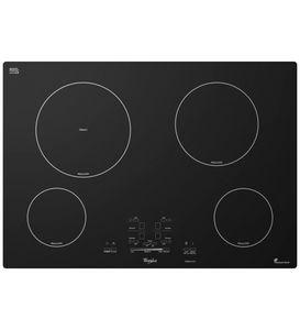 placa de cocina de vitrocerámica / de inducción / 4 fuegos