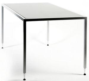 mesa de trabajo contemporánea / de madera / rectangular / cuadrada