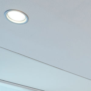 downlight empotrable de techo / LED / redondo / cuadrado