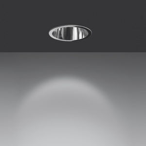 downlight empotrable de techo / LED / fluorescente / redondo