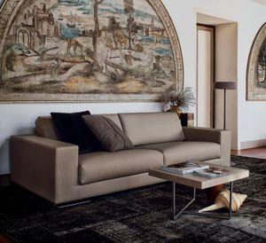 sofá modular / de esquina / contemporáneo / de tejido sintético