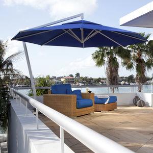 sombrilla lateral / para el sector servicios / para hotel / para bar