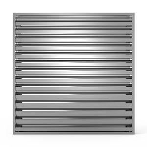 rejilla de ventilación de aluminio
