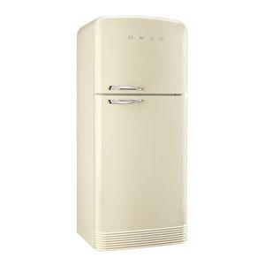 frigorífico combi con congelador en la parte superior / para uso residencial / de 2 puertas / coloreado