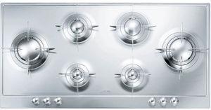 placa de cocina de gas / 6 fuegos