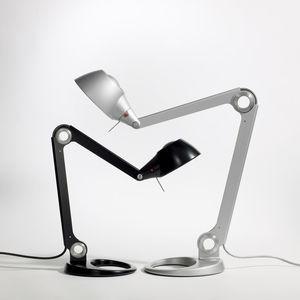 lámpara de oficina / contemporánea / de aluminio / fluorescente compacta