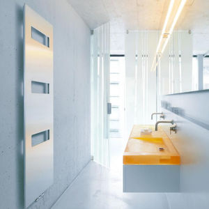 radiador toallero eléctrico / de acero / de acero inoxidable / de aluminio