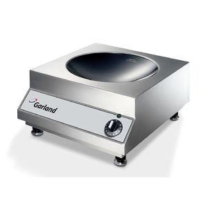 cocina con horno eléctrica / de inducción / profesional / de acero inoxidable
