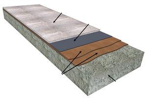 sistema impermeabilizante líquido para pavimento / de resina