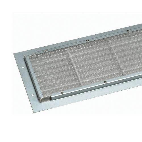 rejilla de ventilación de ABS / rectangular