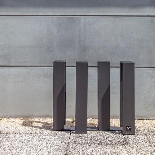 aparcabicis de hierro / para espacio público