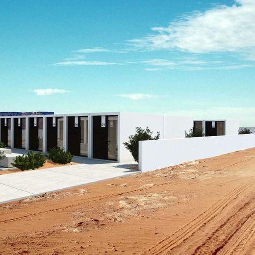 casa prefabricada / modular / de tipo bungalow / contemporánea