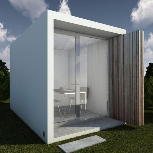 edificio prefabricado / modular / estructura de hormigón armado / para oficina