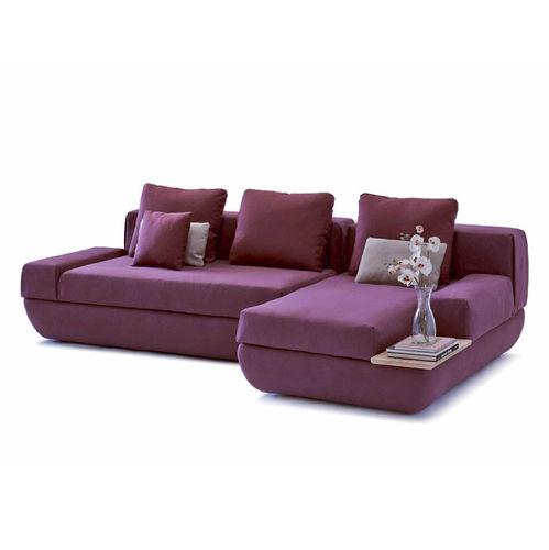 sofá modular / contemporáneo / de tejido / 3 plazas