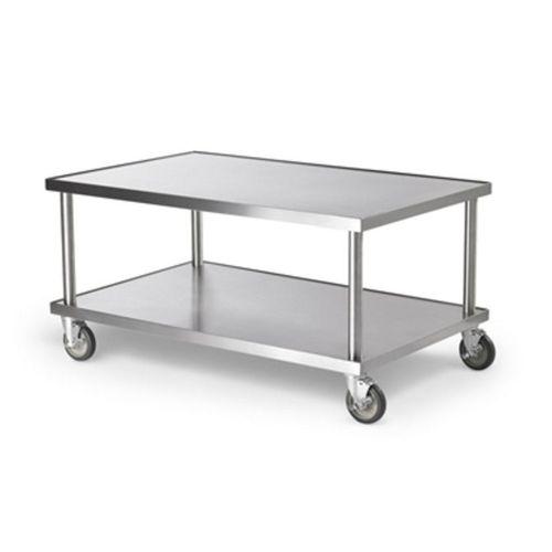 mesa de preparación de acero inoxidable / móvil
