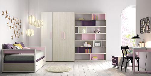 habitación para niños rosa