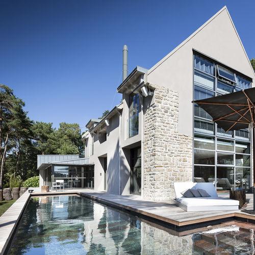 piscina con fondo móvil - Aqualift
