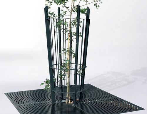 guarda-árboles de acero galvanizado