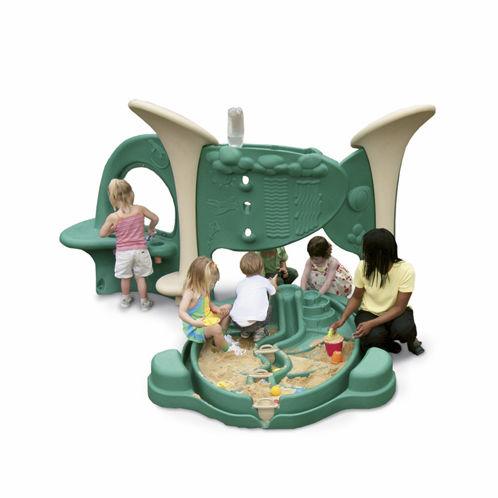 cajón de arena para parque infantil