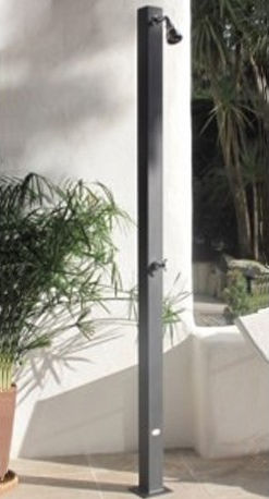 ducha par jardín de acero galvanizado