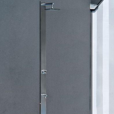 ducha par jardín de acero inoxidable