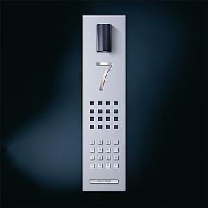 teclado numérico para control de acceso