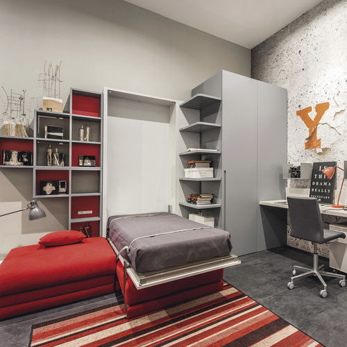 cama abatible / individual / moderna / para niños