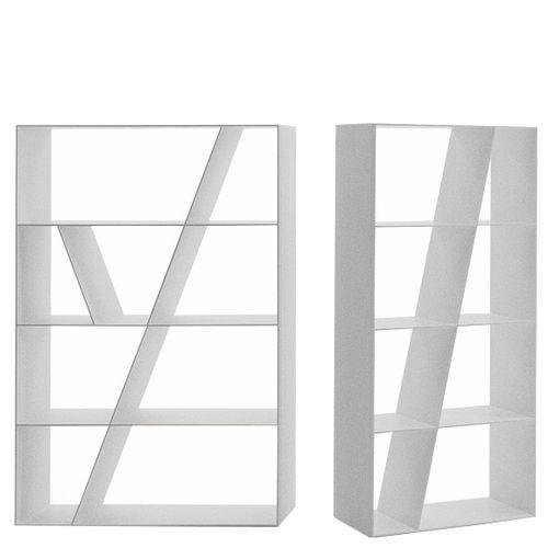 biblioteca de diseño minimalista / de Corian®