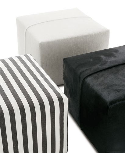puf contemporáneo / de tejido / de cuero / de Antonio Citterio