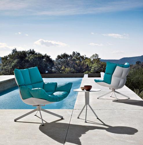sillón bajo contemporáneo - B&B Italia