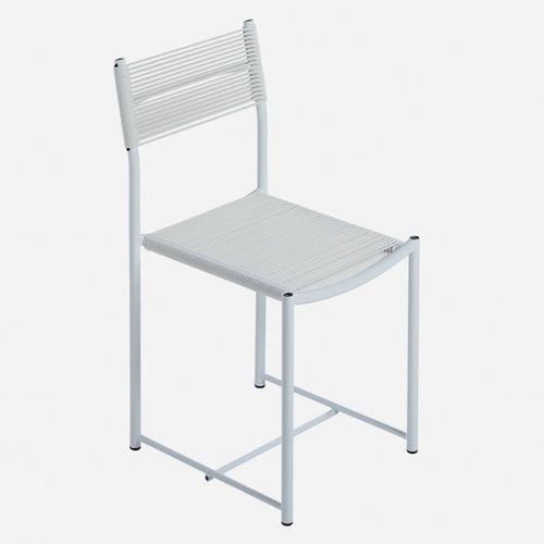 silla moderna / de acero / de PVC