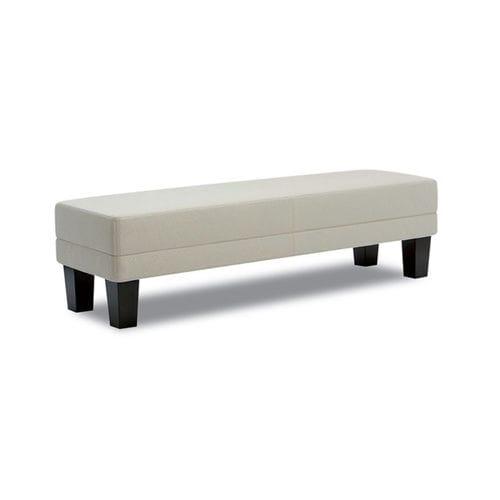 banqueta contemporánea / de tejido / con revestimiento removible / de interior