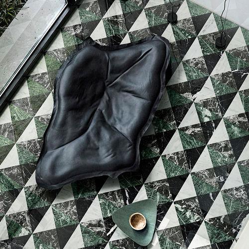 baldosa de interior / para suelo / de gres porcelánico / cuadrada