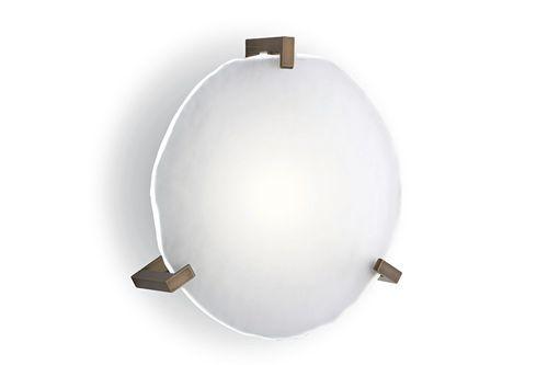 aplique contemporáneo / de baño / de acero / de aluminio macizo