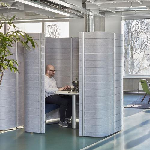 cabina de concentración de Ronan & Erwan Bouroullec