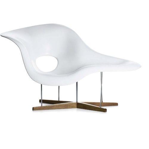 chaise longue de diseño orgánico
