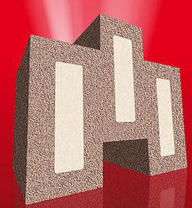 bloque de obra a base de silicio expandido