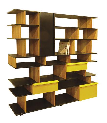 biblioteca contemporánea / para oficina / de madera