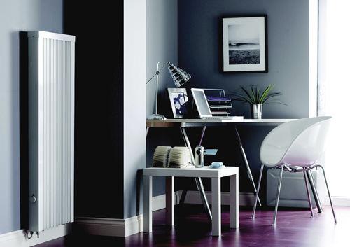 radiador eléctrico / de metal / contemporáneo / vertical
