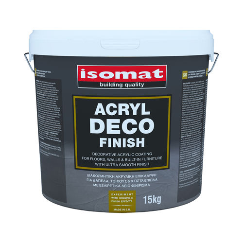 enlucido decorativo - ISOMAT S.A.