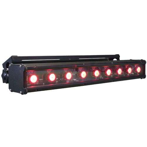 luminaria LED RGB