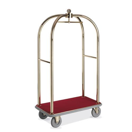 carrito para equipaje / para hotel / de metal