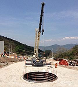chapa ondulada / de acero / para la construcción de puentes