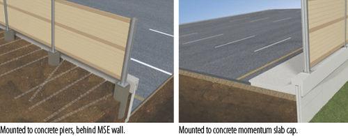 muro de contención de madera
