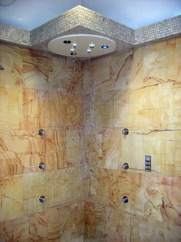 ducha sensorial / para el sector servicios / para centro de spa