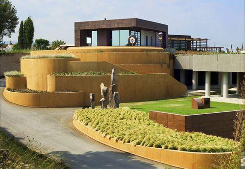 edificio prefabricado / de hormigón / para oficina / contemporáneo