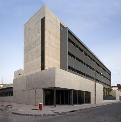 edificio prefabricado / de hormigón / para hospital / contemporáneo