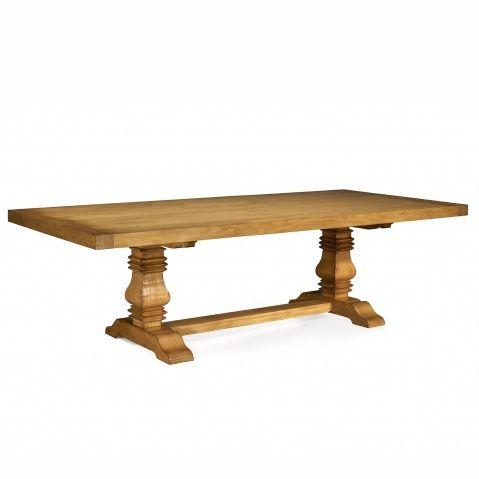 mesa de comedor clásica / de roble / de cerezo / de caoba