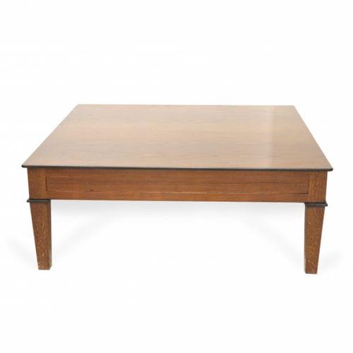 mesa de centro moderna / de roble / de cerezo / de caoba